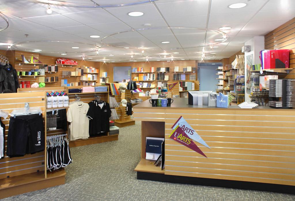 UArts Store desk overall